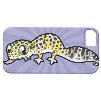Cartoon Leopard Gecko iPhone 5 Cases