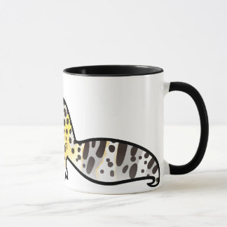 Cartoon Leopard Gecko Mug