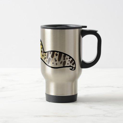 Cartoon Leopard Gecko Stainless Steel Travel Mug