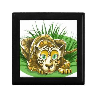 Cartoon Leopard Gift Box
