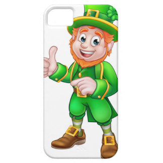 Cartoon Leprechaun St Patricks Day Character Barely There iPhone 5 Case