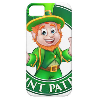 Cartoon Leprechaun St Patricks Day Sign Case For The iPhone 5