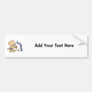 Cartoon Libra Bumper Stickers