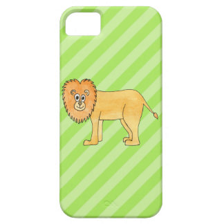 Cartoon Lion. Case For The iPhone 5
