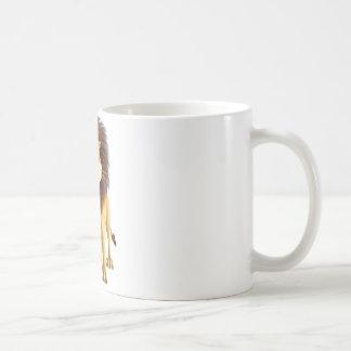 Cartoon Lion Coffee Mugs