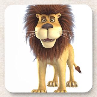 Cartoon Lion Drink Coasters