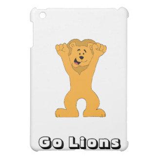 Cartoon Lion Fan Cheering iPad Mini Covers