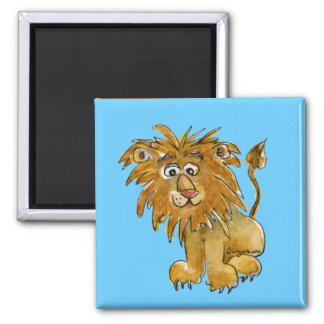 Cartoon Lion Magnet to Personalize