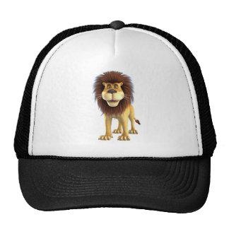 Cartoon Lion Mesh Hats