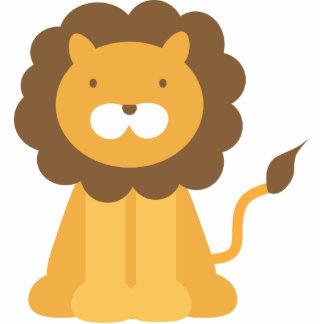 Cartoon Lion Photo Sculptures