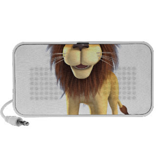 Cartoon Lion Laptop Speakers