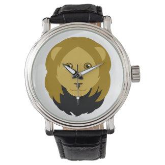 Cartoon Lion Wristwatch