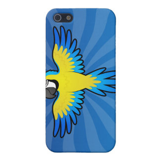 Cartoon Macaw / Parrot iPhone 5/5S Case