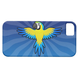 Cartoon Macaw / Parrot iPhone 5 Covers