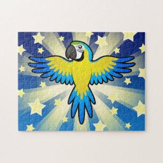 Cartoon Macaw / Parrot Jigsaw Puzzle
