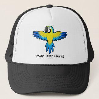 Cartoon Macaw / Parrot Trucker Hat