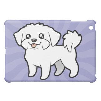 Cartoon Maltese (puppy cut) Case For The iPad Mini