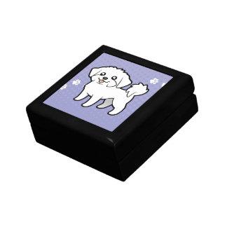 Cartoon Maltese (puppy cut) Gift Box