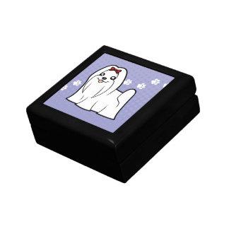 Cartoon Maltese (show cut) Gift Box