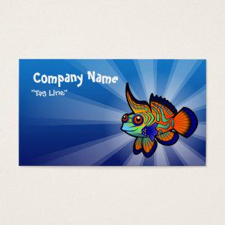 Cartoon Mandarin / Dragonet Fish