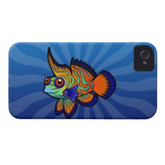 Cartoon Mandarin / Dragonet Fish Case-Mate iPhone 4 Cases
