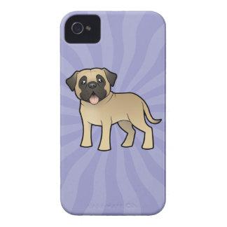 Cartoon Mastiff / Bullmastiff Case-Mate iPhone 4 Case