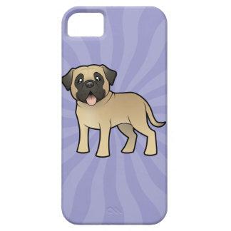 Cartoon Mastiff / Bullmastiff iPhone 5 Covers