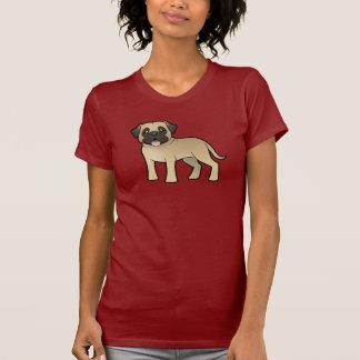 Cartoon Mastiff / Bullmastiff T-Shirt