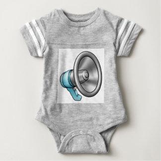 Cartoon Megaphone Baby Bodysuit