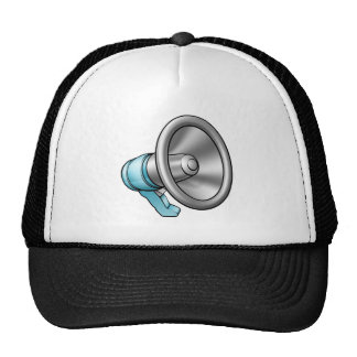 Cartoon Megaphone Cap