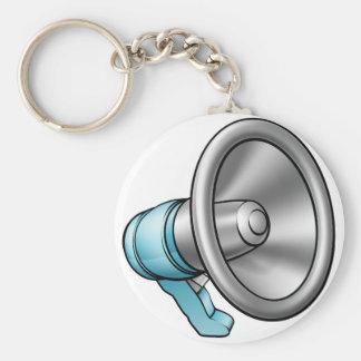Cartoon Megaphone Key Ring