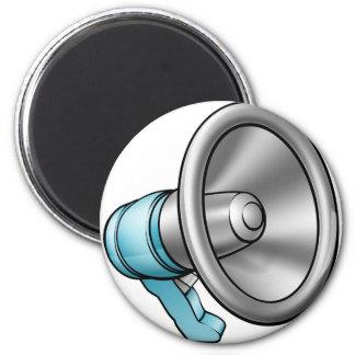 Cartoon Megaphone Magnet