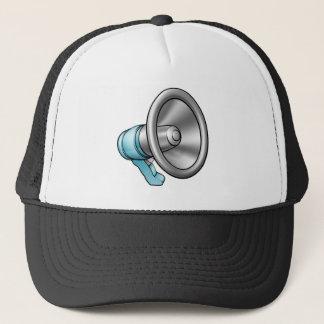 Cartoon Megaphone Trucker Hat
