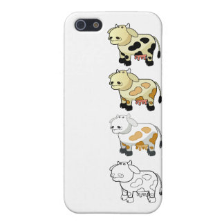 Cartoon Milk Cows iPhone Case iPhone 5 Covers