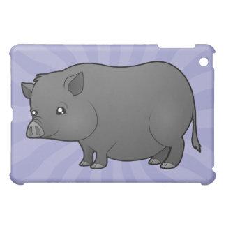 Cartoon Miniature Pig Case For The iPad Mini
