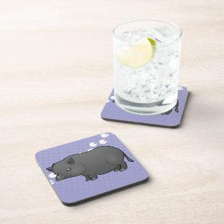 Cartoon Miniature Pig Coaster