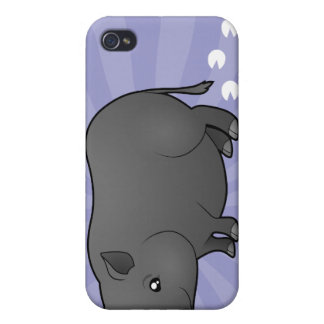 Cartoon Miniature Pig Cover For iPhone 4