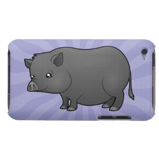 Cartoon Miniature Pig iPod Touch Cases