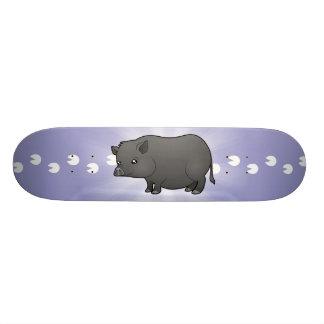 Z Pig Skateboard Pig Lover Skateboard D...