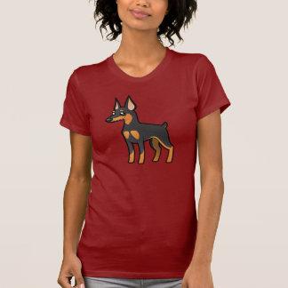 Cartoon Miniature Pinscher / Manchester Terrier T-Shirt