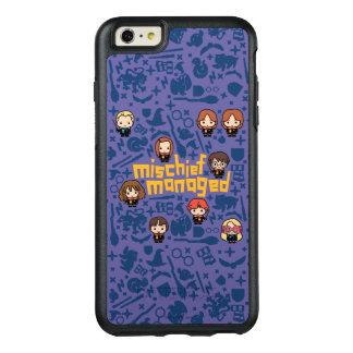 "Cartoon ""Mischief Managed"" Graphic OtterBox iPhone 6/6s Plus Case"