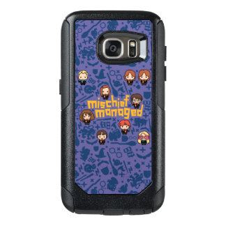 "Cartoon ""Mischief Managed"" Graphic OtterBox Samsung Galaxy S7 Case"