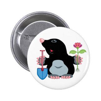 cartoon mole buttons