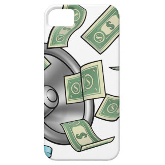 Cartoon Money Megaphone Concept Case For The iPhone 5