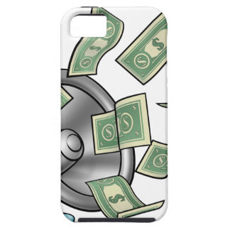 Cartoon Money Megaphone Concept iPhone 5 Case