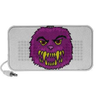 Cartoon Monster Art Laptop Speakers