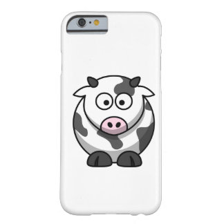 cartoon Moo Cow Barely There iPhone 6 Case