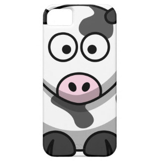Cartoon Moo Cow Barely There iPhone 5 Case