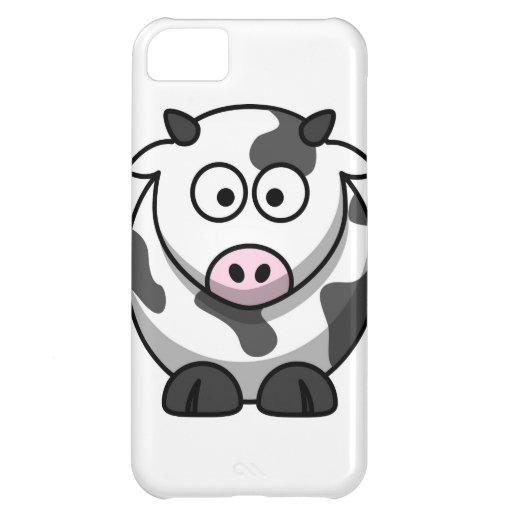 cartoon Moo Cow iPhone 5C Cases