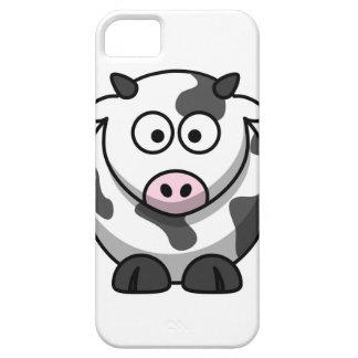 cartoon Moo Cow Case For The iPhone 5